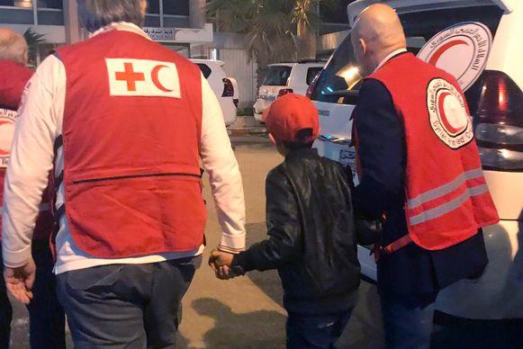 De 11-jarige jongen werd herenigd met zijn vader na een intensieve zoektocht.