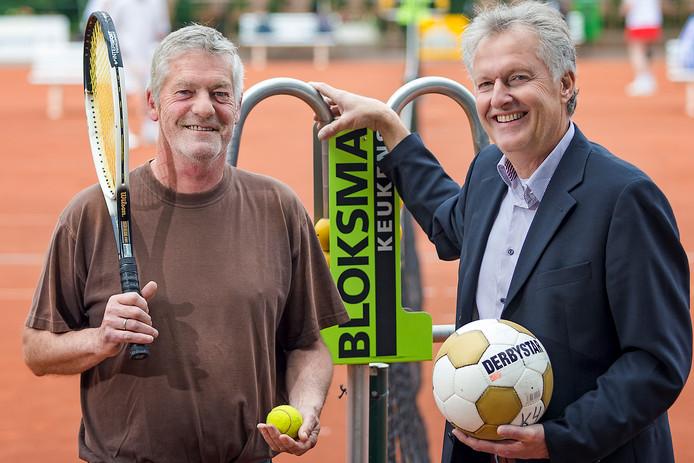 De voorzitters Ed Fallaux en Wim Buskermolen.