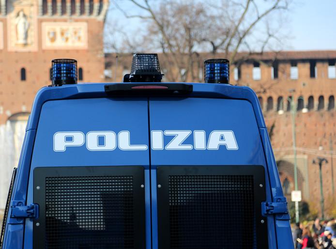 Italiaanse politie, foto ter illustratie.