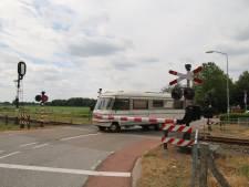 Slagbomen dicht door storing, geen treinen tussen Boxmeer en Venray
