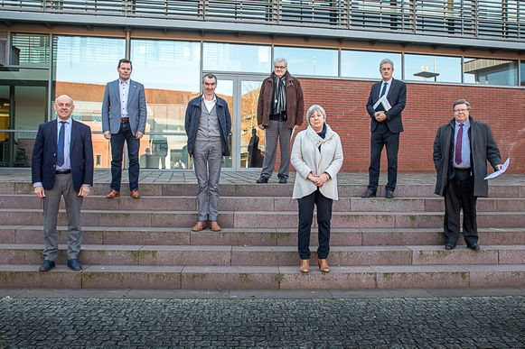 Zeven gemeentebesturen uit de regio Tielt (Dentergem, Meulebeke, Oostrozebeke, Pittem, Ruiselede, Tielt en Wingene) richten samen een regionale taskforce op