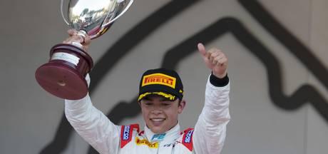 Nyck de Vries wint voor het eerst in F2