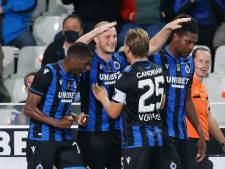 Club Brugge wint ruim van Waasland-Beveren en blijft in spoor koploper Zulte Waregem