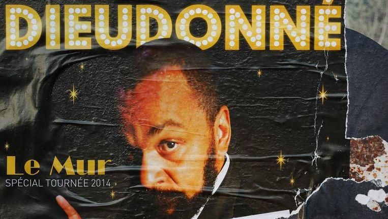 Een poster van de show van Dieudonné. Beeld reuters