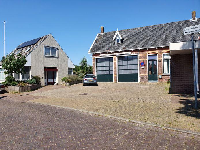 De voormalige brandweerkazerne aan de Torenring.