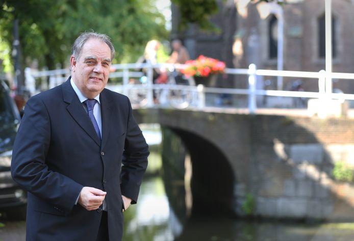 Bas Verkerk, hier in Delft.
