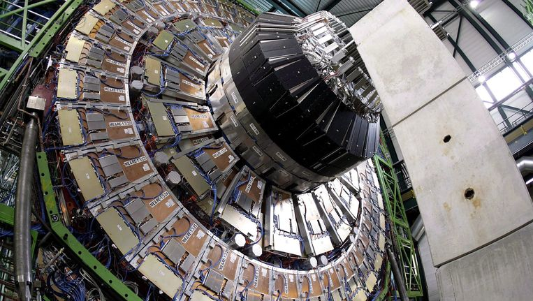 De magneetkern van de LHC. Beeld EPA