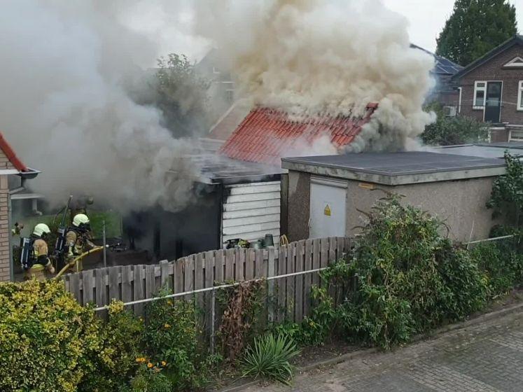 Meerdere schuren vatten vlam in Hengelo