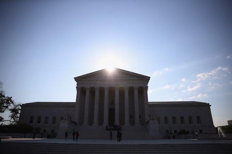 Het hooggerechtshof in Washington Beeld anp