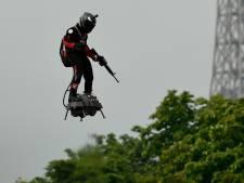 """""""L'homme volant"""" compte bien traverser la Manche en Flyboard malgré un avis défavorable de la préfecture maritime"""