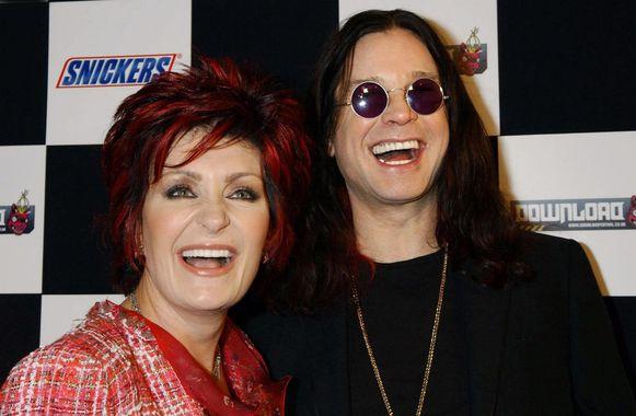 Sharon en Ozzy Osbourne.