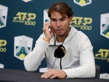 """Nadal avance """"au jour le jour"""" pour soigner sa blessure"""