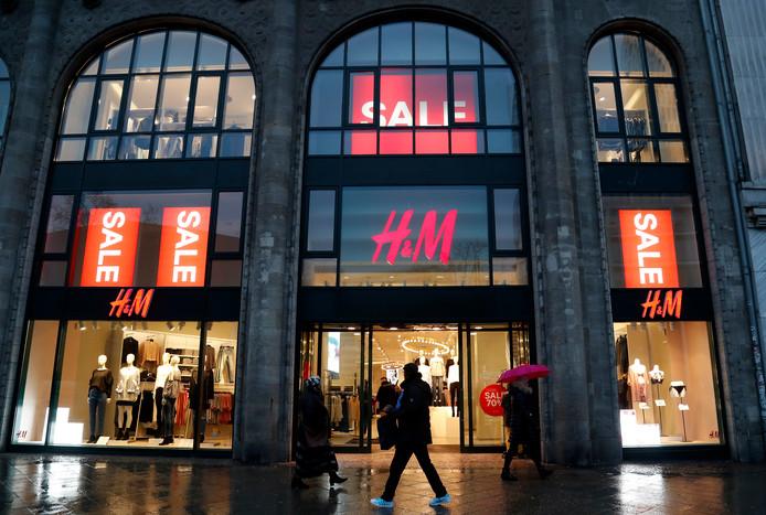 Een H&M-winkel.