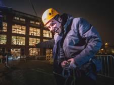 Burgemeester Mathias De Clercq met Death Ride van Industriemuseum voor Museumnacht