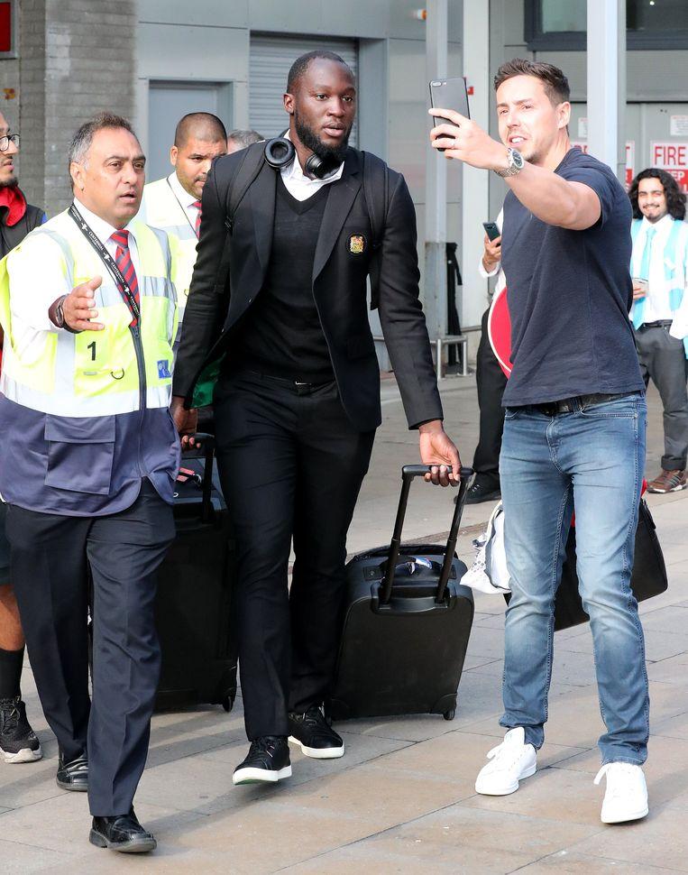 Lukaku in Manchester.
