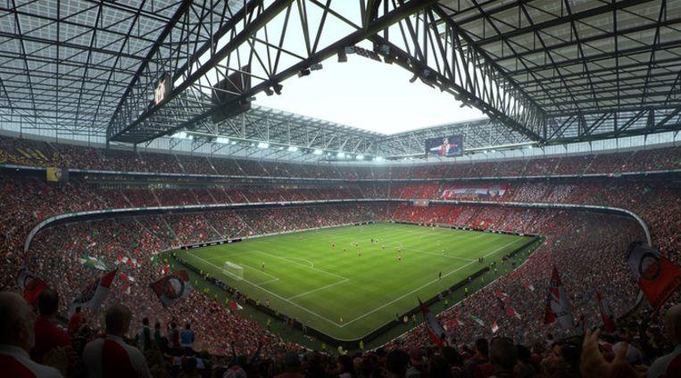 Hoe het nieuwe stadion er moet gaan uitzien