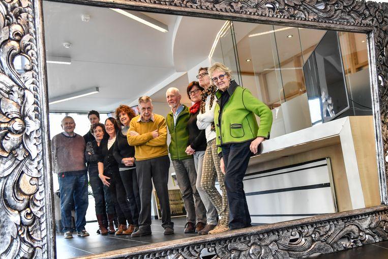 Kunst Nu exposeert in dienstencentrum Ter Welle rond het thema 'spiegel'.