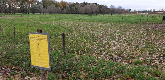 Buurtbewoners protesteerden tegen de bouw van een paardenkliniek in de Turkenhofdreef in Liezele, het gemeentebestuur weigerde daarop de vergunning.