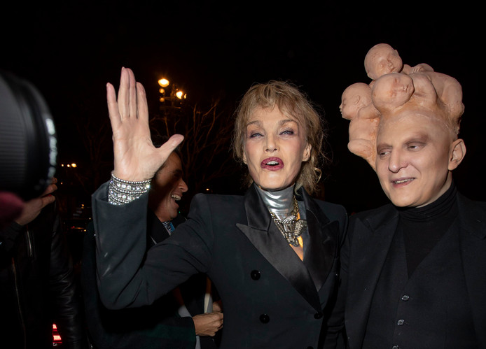 Arielle Dombasle et Ali Mahdavi
