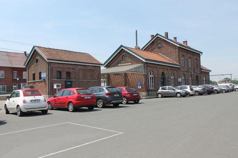 Het stationsgebouw van Herne wordt binnenkort een werkplaats voor de bewoners van De Okkernoot.
