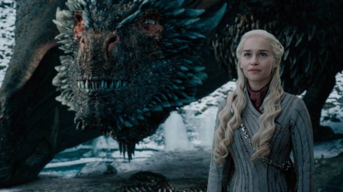 Daenerys Targaryen is in Game of Thrones de moeder van de draken.