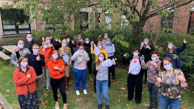 Zorgpunt Waasland verleidt medewerkers tot een griepspuit
