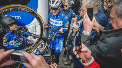"""""""Dit is erger dan bij Boonen"""": in het spoor van Evenepoel bij zijn Belgisch profdebuut"""