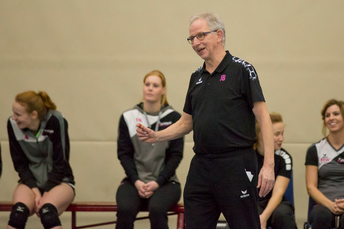 Jan  Berendsen, sinds jaar en dag trainer van Eurosped.