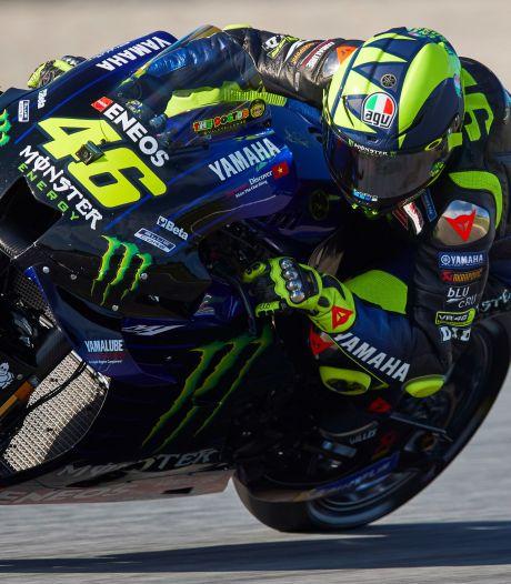 Racelegende Rossi blijft een jaar langer actief in MotoGP
