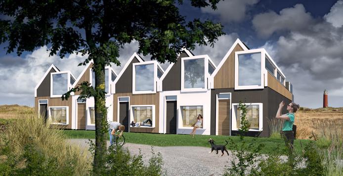 Texel zet als eerste gemeente in Nederland op grote schaal prefabwoningen neer om het ergste tekort aan sociale huurwoningen te lenigen. In het najaar rollen de eerste van in totaal 100 huizen van de band die binnen één dag op locatie kunnen worden opgebouwd.