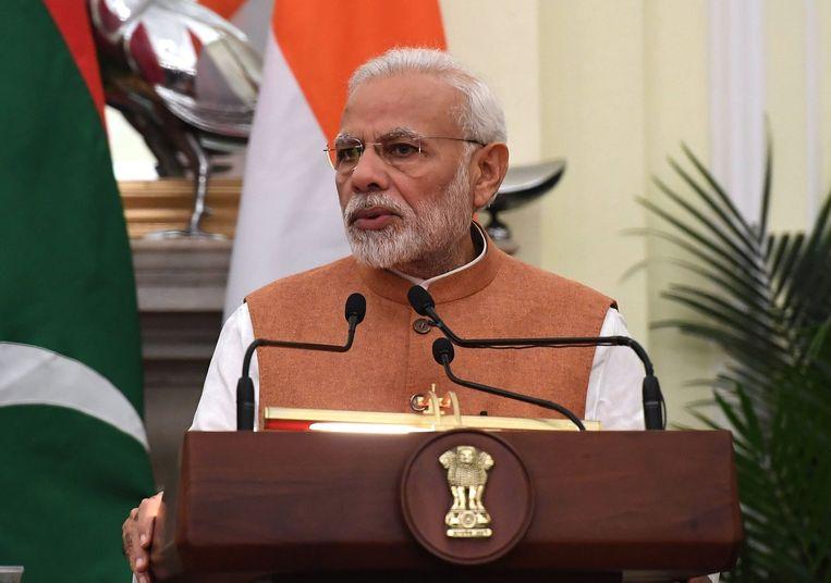 Premier Narendra Modi uit India
