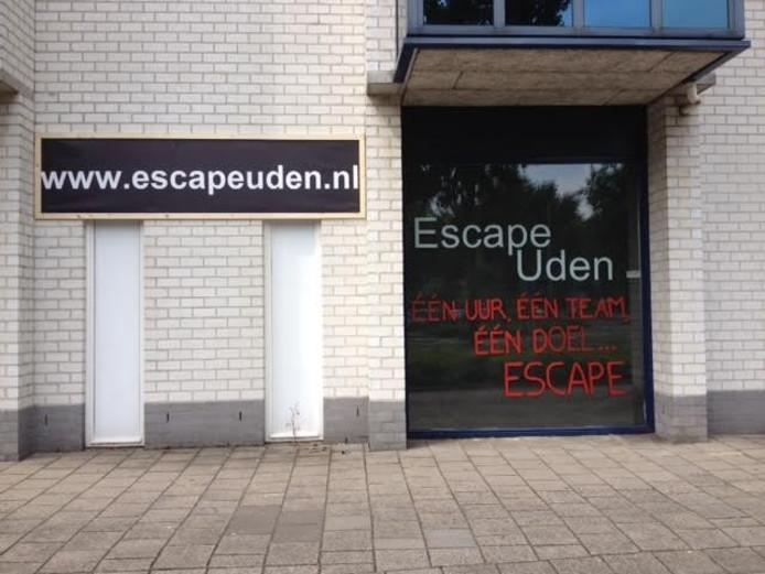 De nieuwe escaperoom van Uden.