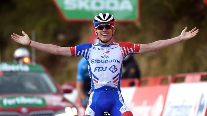 Gaudu rondt lange aanval af in loodzware Vuelta-etappe, favorieten sparen zich voor Angliru