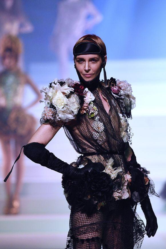 Het Belgische model Hannelore Knuts.