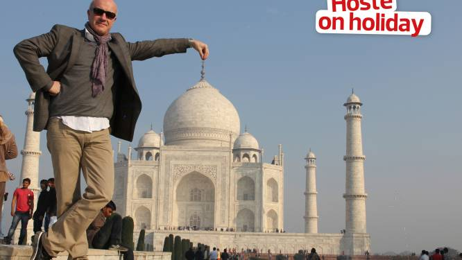 """Geert Hoste over bijzondere reis naar India: """"Bij de Taj Mahal kon ik enkel aan Manneken Pis denken"""""""