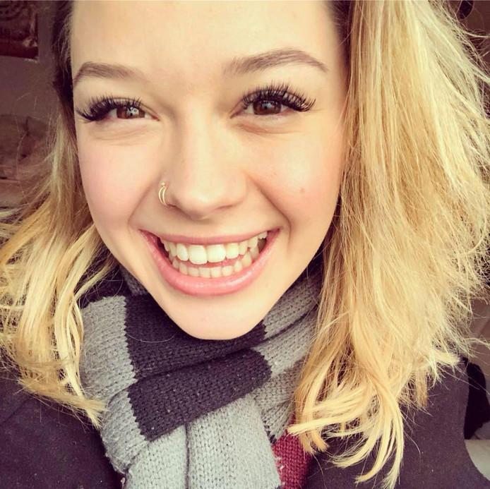 De (12-12-2018) omgebrachte Sarah Papenheim.