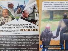 Verspreiders anti-homoflyer 'waarschuwden' voor plaatsen kinderen bij homostel