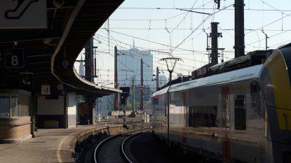 Treinverkeer rond Brussel verloopt weer normaal