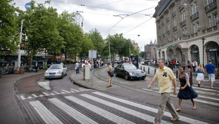 De taxistandplaats was de gemeente al langere tijd een doorn in het oog. Foto ANP Beeld