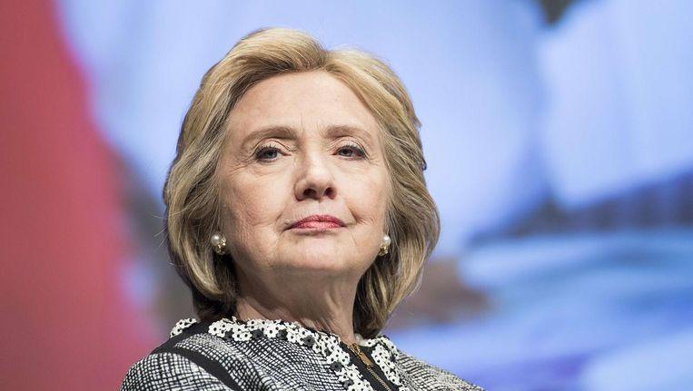 Presidentskandidate Hillary Clinton. Beeld afp