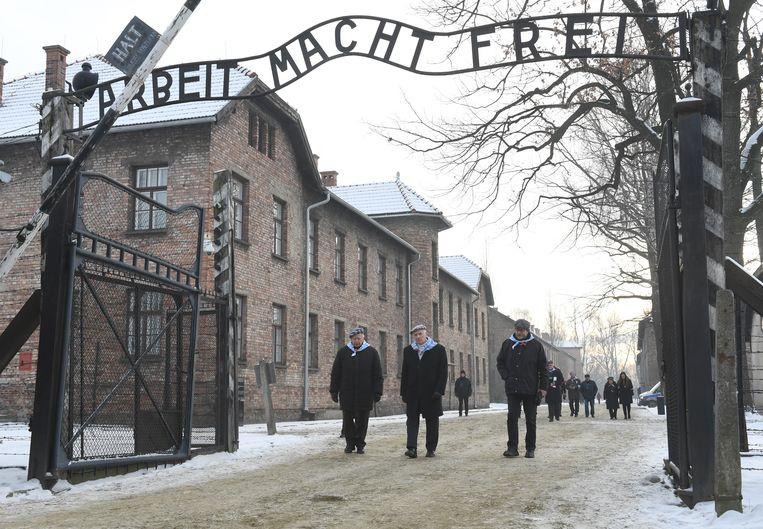 Koninklijk paar aanwezig bij herdenking Auschwitz