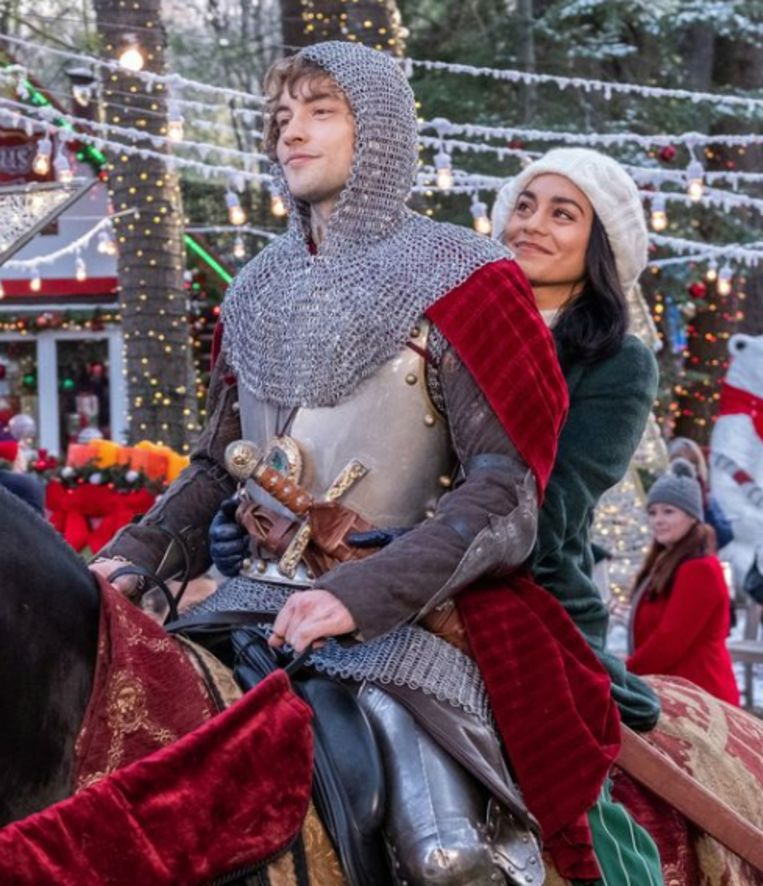 Vanessa Hudgens in 'The Knight Before Christmas'.