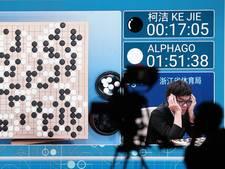 Google-computer wint bordspel go van Chinese topspeler