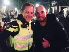Nee, dit is niet de nieuwe vriendin van Wesley Sneijder