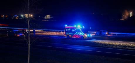 Ongeval met vier voertuigen op A58 bij Kapelle