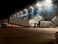 Containerbrand bij Bol.com in Waalwijk