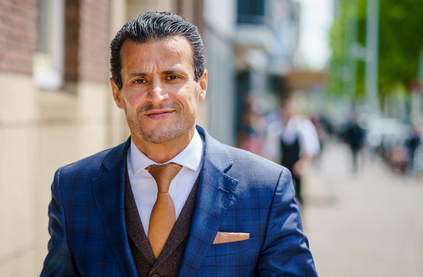 Farid Azarkan is momenteel politiek leider van Denk in de Tweede Kamer