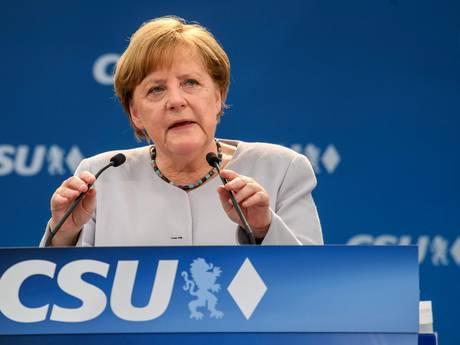 Merkel: Europa moet lot in eigen hand nemen