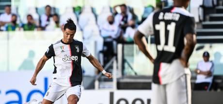 Na 43 pogingen eindelijk een rake vrije trap voor Ronaldo bij derbyzege op Torino