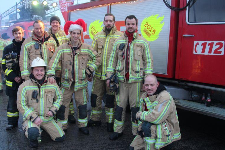 Brandweerpost Lede stuurt een delegatie naar Fire For Life.